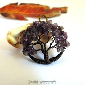 Tree of Life pendant Amethyst